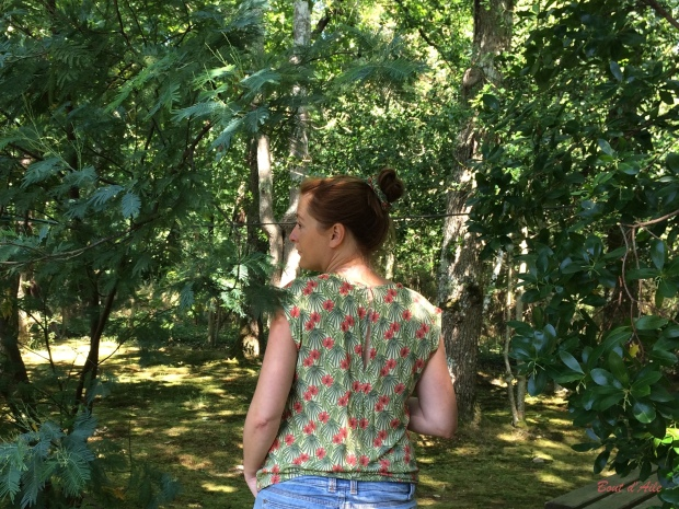 Blouse Buisson d'Hibiscus (1)