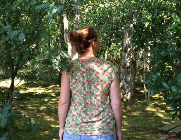 Blouse Buisson d'Hibiscus (8)